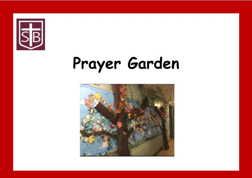 Our Prayer Garden