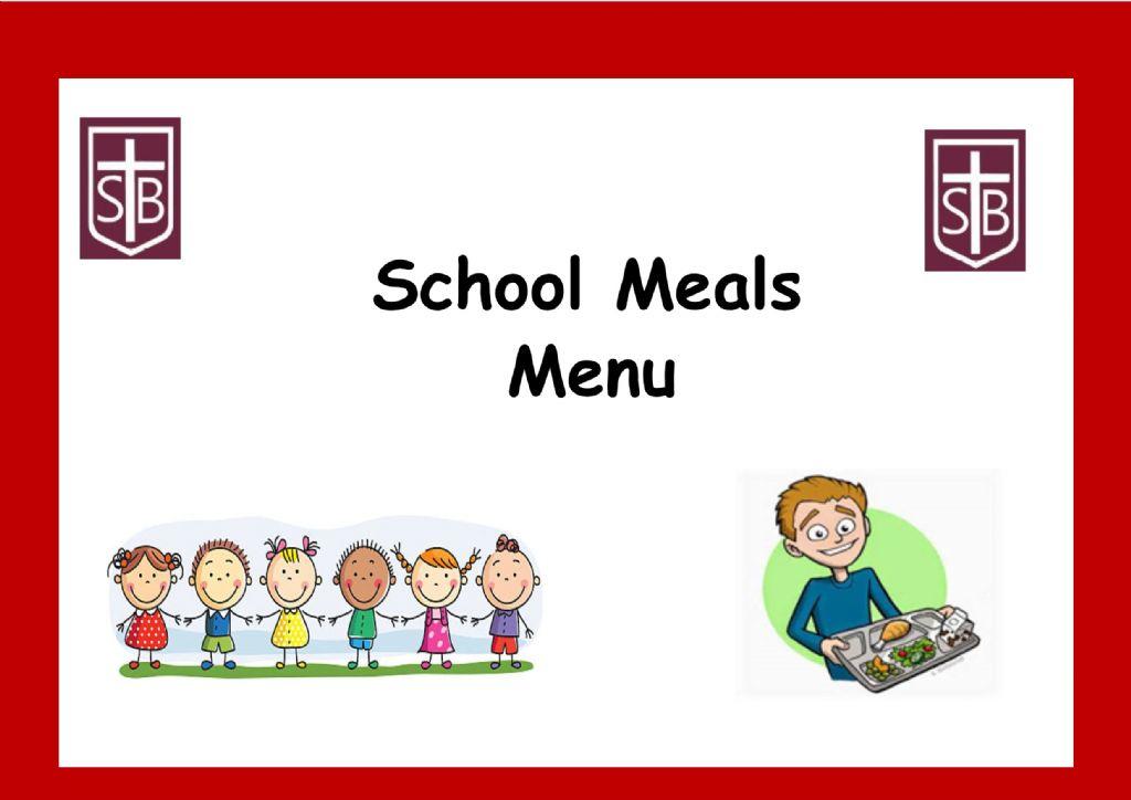 School Meals Menu May 2021